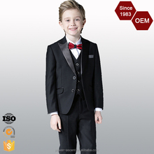 2016 OEM Fashion Design Top Quality Child Boys Wedding Suits Factory