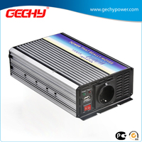 HYM-1000W 12v-230v DC to AC modified sine wave car power inverter with European socket