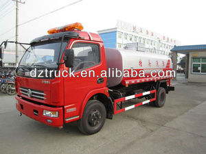 Dongfeng Duo Li Ka 4*2 3800mm wheel base Yandi SZD5090GSS water tank fire fighting truck for sale