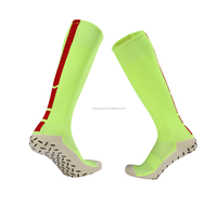 free sample high quality boot men cotton compression sports football socks anti slip soccer socks