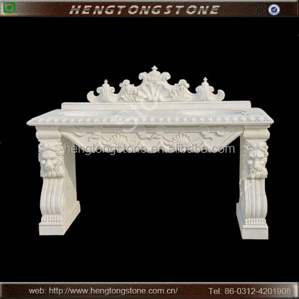 Carved Natural Stone Hand Wash Basin for Home Decoration