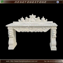 Nice Hand Carved Natural Stone Basin with Lion Head HT-L-XSP1120