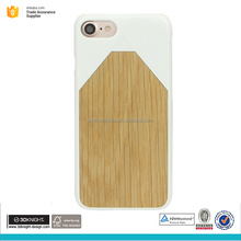OEM ODM wooden bamboo cell phone case for iphone 7