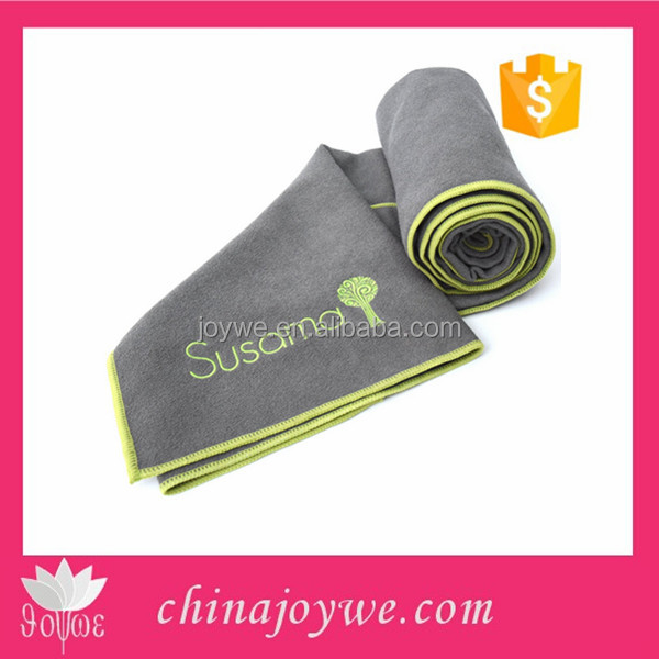 Sports & Hot Yoga Towel - 100% Microfiber, Super Absorbant, Non Slip, Light, Quick-dry, Eco-friendly