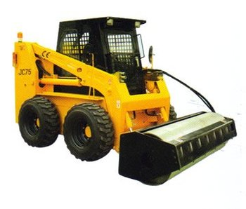 Attachment of JC Series Skid steer Loader :Vibratory Roller