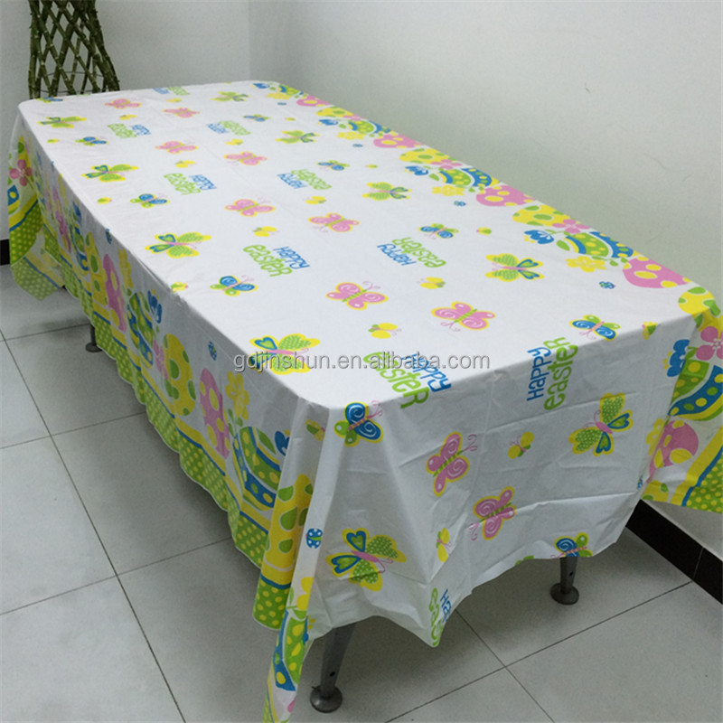 Mickey Mouse Printing happy birthday plastic table cloth/table cover