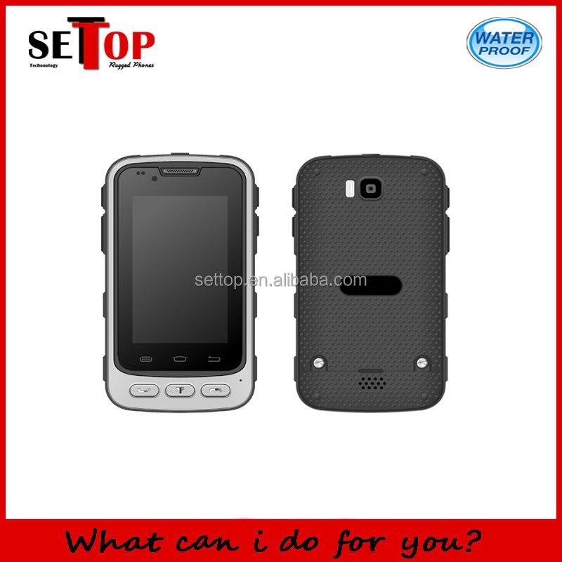 3.5 inch 3G GPS Android 4.4 Waterproof Rugged Phone H2