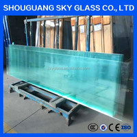 19mm Density Toughened Glass Price