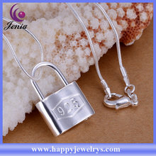 NEW DESIGN HOT SELLING 925 SILVER PLATED HIGH QUALITY FASHION JEWELRY PENDANT LOCKET PENDANT(CP005)