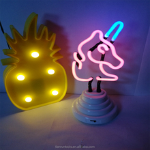 small unicorn neon tube lights for rooms