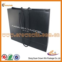 Favorites Compare Industry pioneer manufacturers hot sale paper bags ,glossy black paper shopping bags