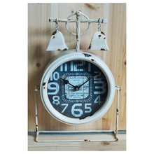 mechanism movement promotional gift table clock skeleton clock