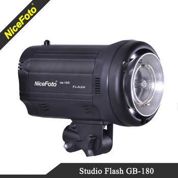 NiceFoto Photographic Equipment Studio flash GB-180, studio strobe flash 180Ws