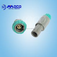 High quality 2 pin female and male plastic connector used in monitor accessories