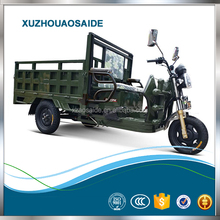 800W Three Wheel Oil and Electricity Dual Drive Tricycle For Cargo