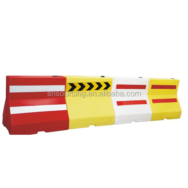 Plastic Jersey Water Filled Road Traffic Barrier