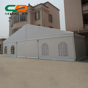 15x35m large luxury marquee party tent with floor system for sale