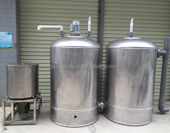 PUXIN High Efficiency Food Waste Disposal Anaerobic Treatment System for restaurant
