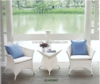 white wicker furniture LD-HC0057