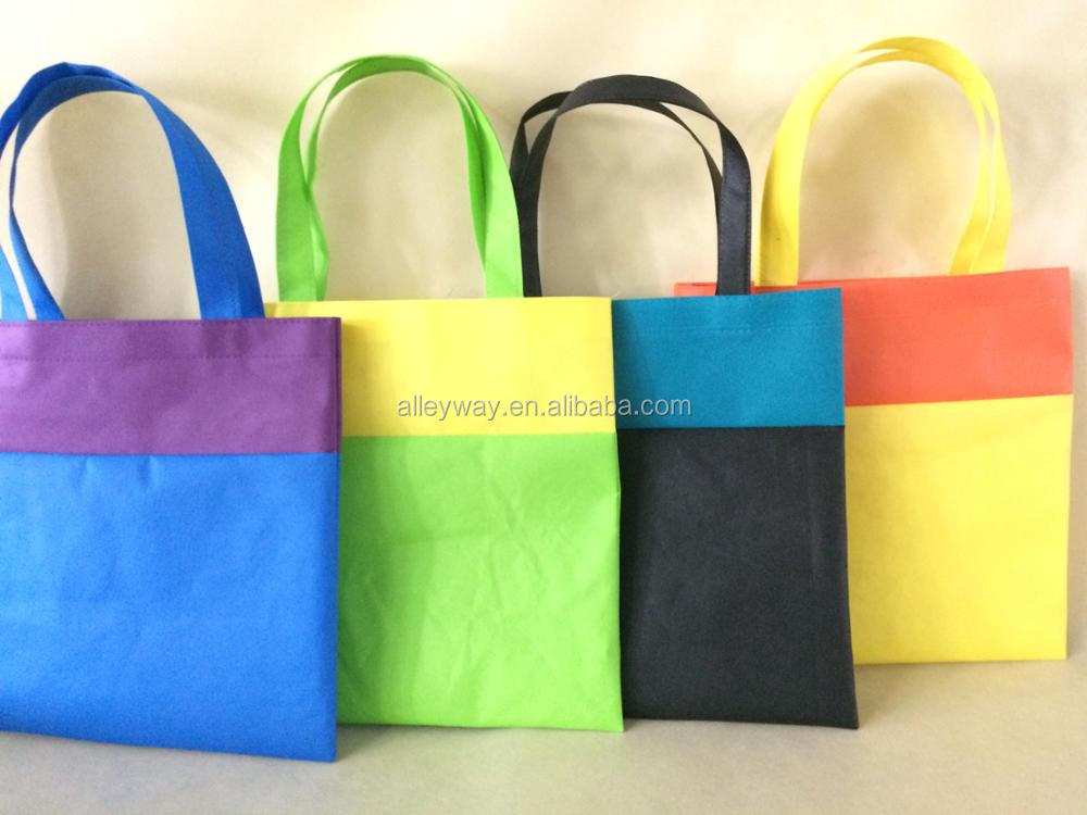 Colorful non woven bag for kids
