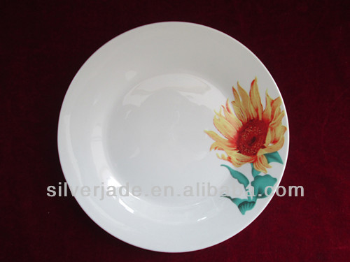 middle east ceramic dinner plate set
