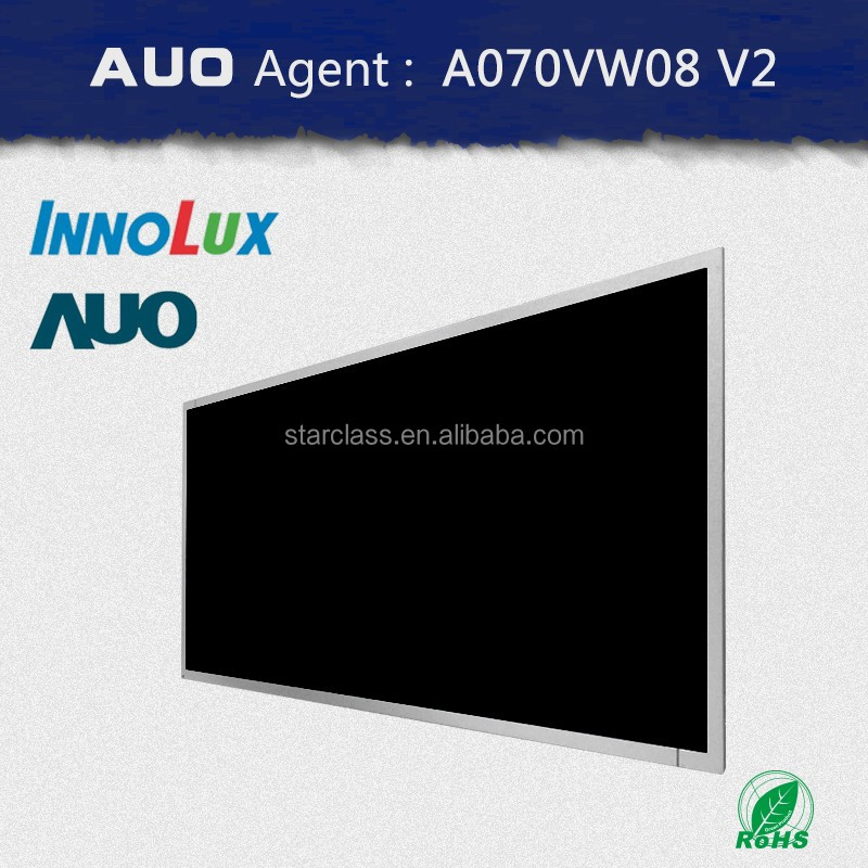 AUO AGENT 7inch LCD Panel A070VW08 V2 with led backlight