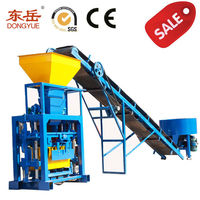 Hot low price semi auto smart solid clay brick making machine