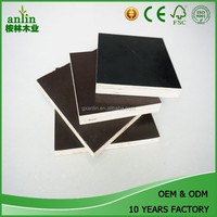 cheaper price 18mm brown film faced plywood