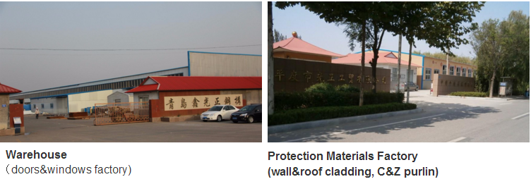 CE Certification high quality and lowest price steel structure warehouse