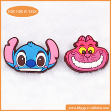 Custom cute desig Soft Rubber Injection Molding Camping Sports Bottle Bag Cap Eco-friendly Soft PVC Custom Personalized Fridge