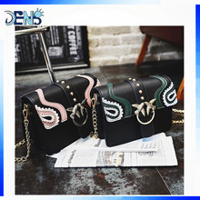 Printing ethnic Messenger Shoulder Bags PU women handbags
