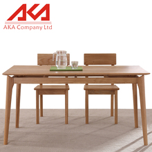 Home Use Furniture Rustic Wooden Dining Table And Chairs