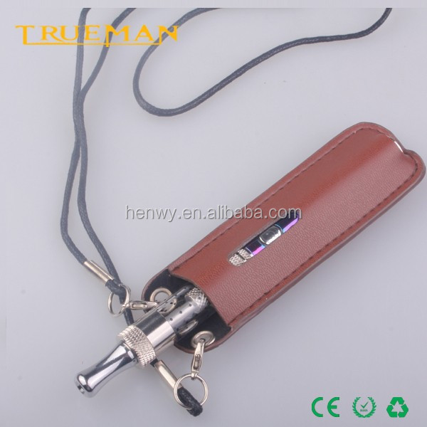 Custom leather bag pouch leather ecig pouch for various electronic cigarette