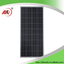 Factory price poly 18V transparent solar panel