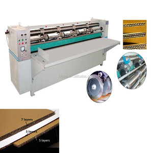 ZSY corrugated cardboard production line corrugated carton box making machine including making boxes cardboard
