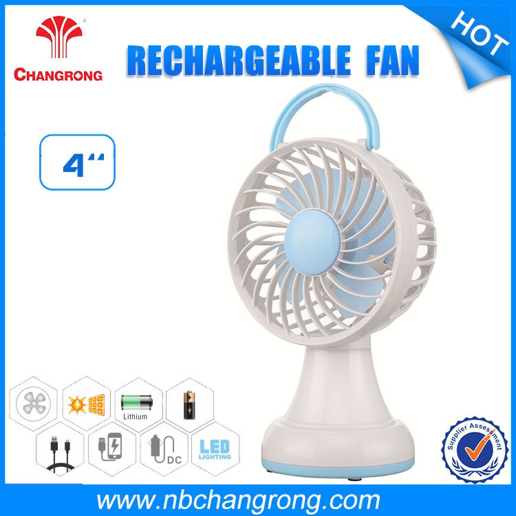 plastic air battery power portable cooling travel handheld usb small mini fan