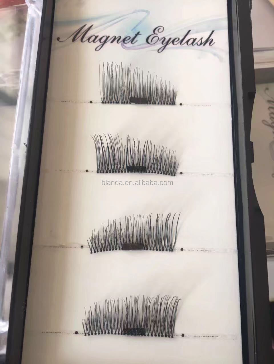 Blanda creates hand-made high-quality 3d mink and 3d silk lashes that you can wear 25+ time