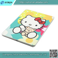 Fashion Design Custom Hello Kitty Cute Leather Case For Tablet Pc