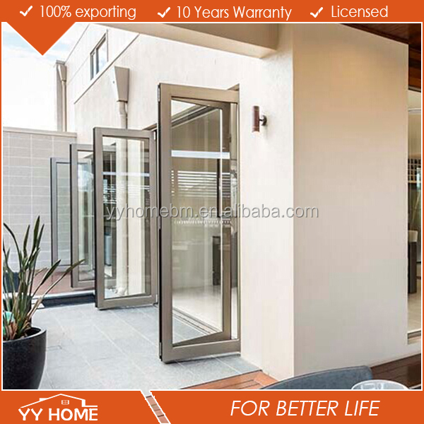 YY Home Economic Aluminum Small Interior Patio Soundproof Folding Doors