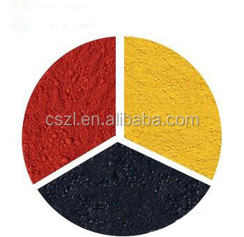 chemical formula fe2o3 iron oxide yellow 313 pigment powder for concrete
