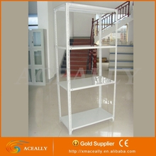 Warehouse Storage Rack Galvanized Slotted Angle Shelving Steel Bolted Shelving