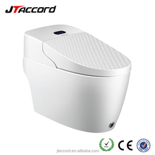 JT-990B intelligent smart electrical auto raise cover and lid remote control integrated bidet ceramic toilet