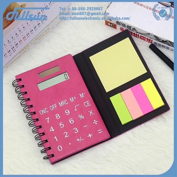 Lady calculator with flash memory card