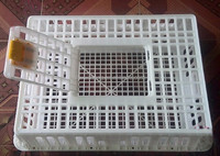 2015 chicken/pigeon transport cages/cage for transport of chicken-77X55X28cm in size