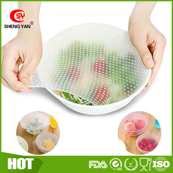 Food Reusable Strechable Food Wrap