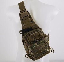 Newest Tactical Shoulder Bag/Military Durable Bags/army hiking shoulder Molle Assault backpacks CL5-0035TAN