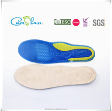 Gel sport insole for shoes TPR foot pads