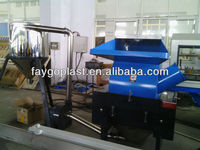 high quality plastic film crusher