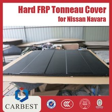 High Quality for Nissan Navara Hard Truck Bed Tonneau Cover Long Chasis, 5.5' Bed 2005-2014