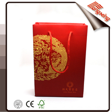 2016 Alibaba china luxury handmade paper bags designs